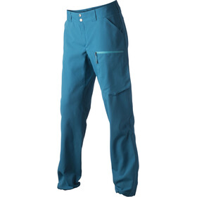 Houdini W's Motion Light Pants Hulls Blue
